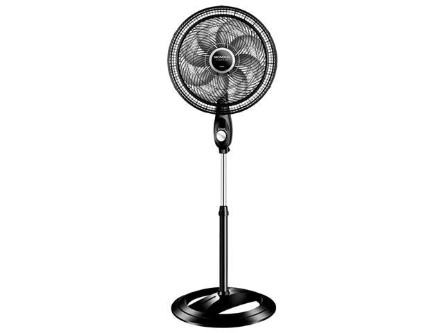 Ventilador de Coluna Mondial 50CM 8 Pás Preto
