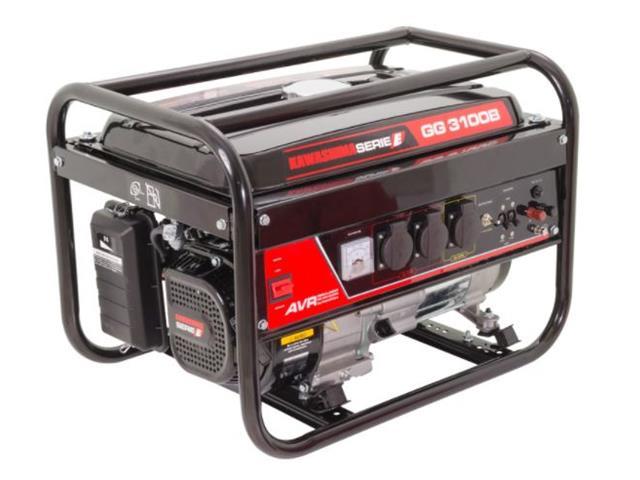 Gerador de Energia Kawashima GG 3100B 2.8KW Monofásico com AVR Bivolt