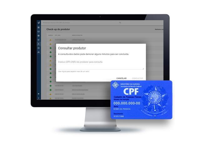 Consulta de CPF do produtor - TerraMagna
