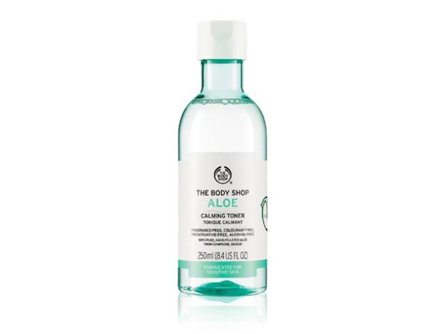 Tônico Facial Calmante The Body Shop Aloe Vera 250ML