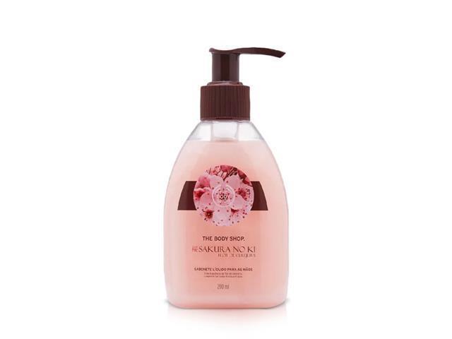 Sabonete Líquido para as Mãos The Body Shop Sakura No Ki 250ML