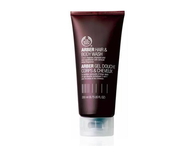 Gel para Corpo e Cabelo The Body Shop Arber 200ML