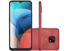 """Smartphone Motorola Moto E7 64GB Duos Tela 6.5"""" 4G Câm 48+2MP Cobre"""