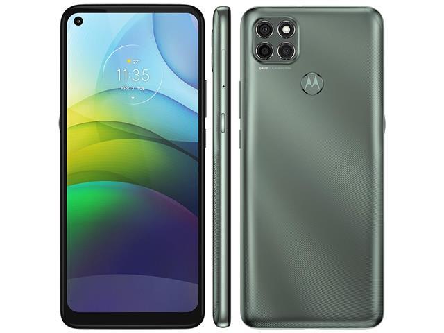 "Smartphone Motorola Moto G9 Power 128GB Duos 6.8""4G Câm 64+2+2MP Verde"