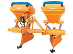 Sulcador Tipo Beija-Flor com 2 Adubadeiras 370 Litros cada DMB