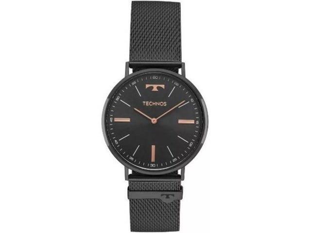 Relógio Feminino Technos Slim Preto 2025LTM/4P