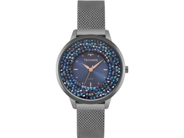 Relógio Technos Feminino Crystal Grafite 2035MQC/5A