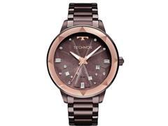 Relógio Technos Feminino Elegance com Cristais Swarovski 2039CF/4G