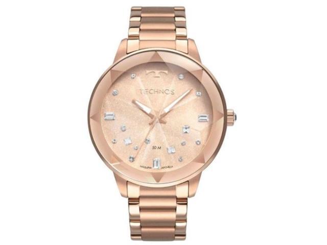 Relógio Feminino Technos Elegance com Cristais Swarovski 2039CG/4J