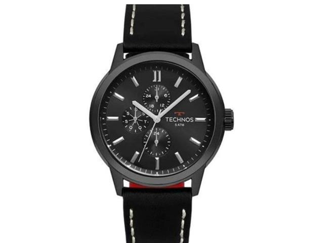 Relógio Technos Masculino Grandtech Preto 6P27DR/2P