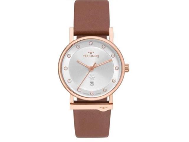 Relógio Technos Feminino Social Slim 9T13AA/2K