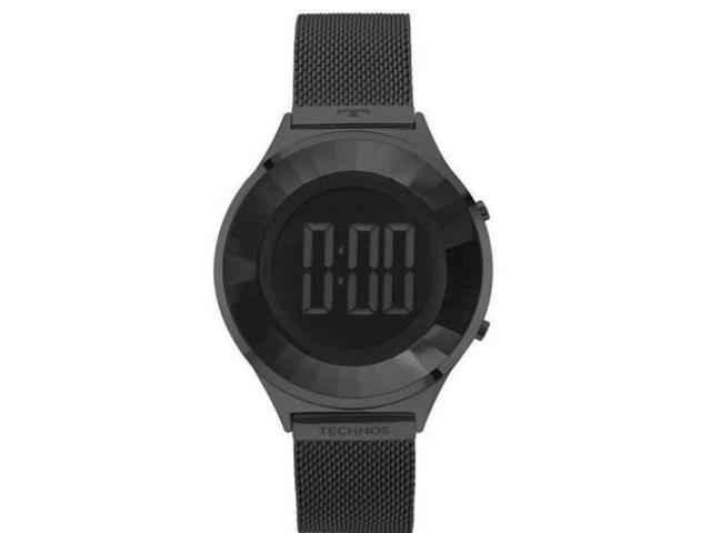 Relógio Feminino Digital Technos Crystal Preto BJ3851AE/4P