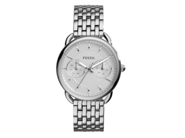 Relógio Fóssil Feminino Tailor Prateado ES3712/1BN