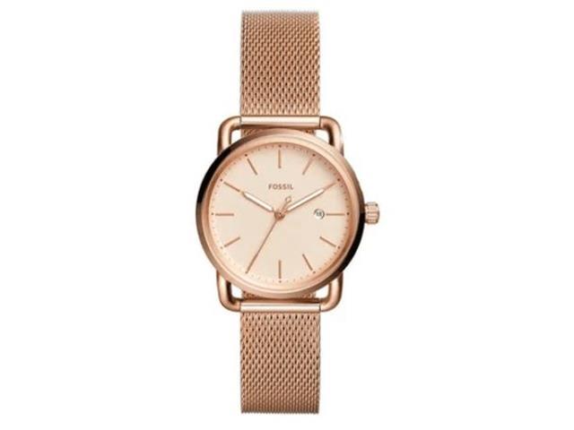 Relógio Fossil Commuter Feminino Rosé ES4333/1JN