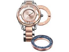 Relógio Technos Feminino Signature Prata e Rosé GL30FN/5A