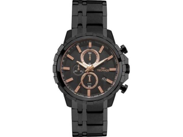 Relógio Technos Masculino Skymaster Preto JS15FB/4P