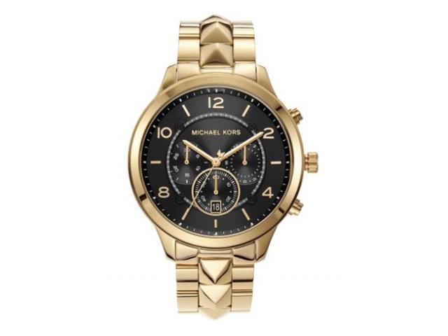Relógio Michael Kors Feminino Runway Dourado MK6712/1DN