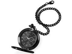 Relógio de Bolso Masculino Technos Aço Inox Quartzo VD77AB/4P