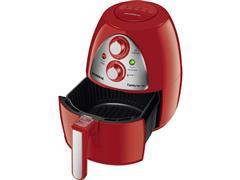 Fritadeira Elétrica Sem Óleo Mondial AF-14 Red Premium 4 Litros - 1