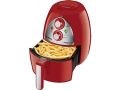 Fritadeira Elétrica Sem Óleo Mondial AF-14 Red Premium 4 Litros