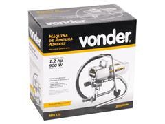 Máquina de Pintura Vonder Airless MPA120 1,2 HP 900W - 8
