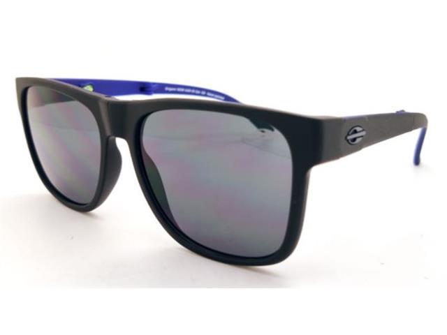 Óculos de Sol Mormaii Origami Dobrável Preto Fosco e Azul