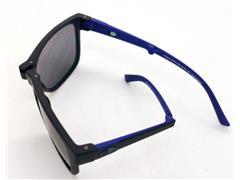 Óculos de Sol Mormaii Origami Dobrável Preto Fosco e Azul - 1