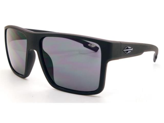 Óculos de Sol Mormaii Macau Preto Fosco Lente Cinza