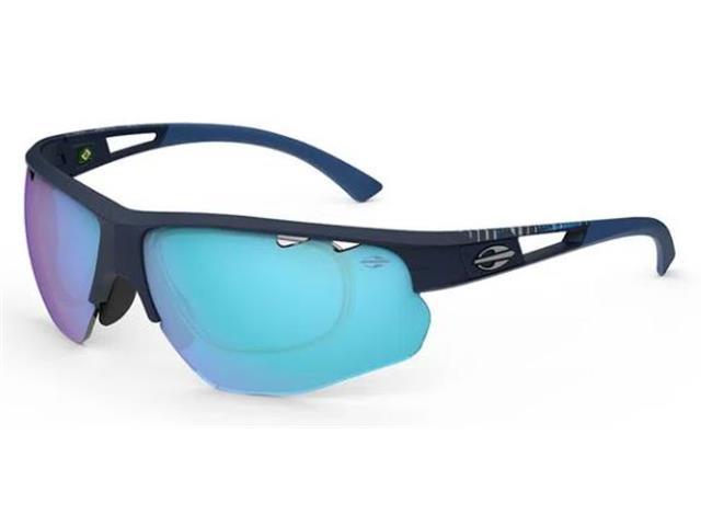Óculos de Sol Mormaii Eagle Azul Escuro com Lente Azul