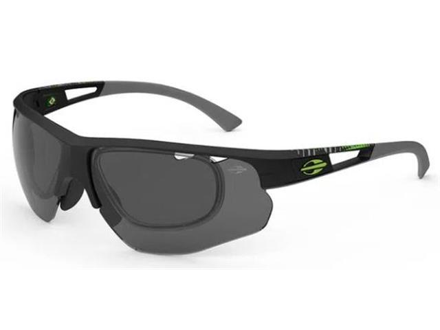 Óculos de Sol Mormaii Eagle Preto Fosco com Lente Cinza