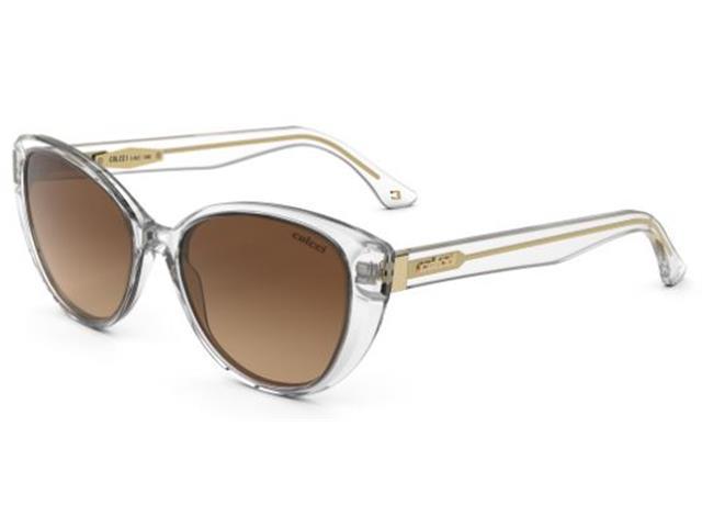 Óculos de Sol Colcci Lara Transparente Lente Marrom Degradê