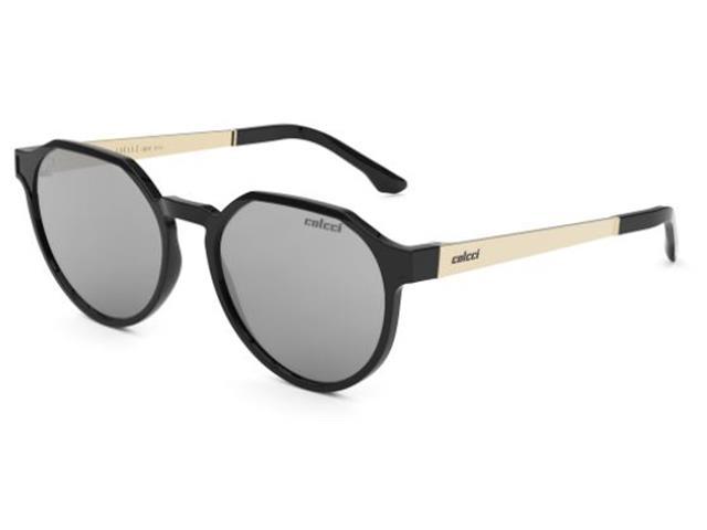 Óculos de Sol Colcci Noa Preto Lente Cinza Espelhado Prata