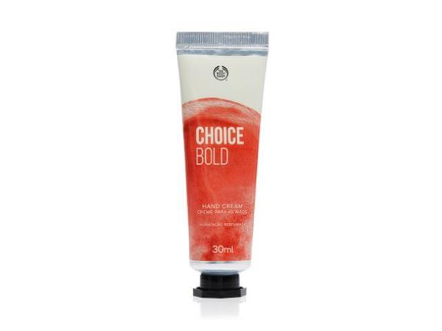 Creme para as Mãos The Body Shop Choice Bold 30ML