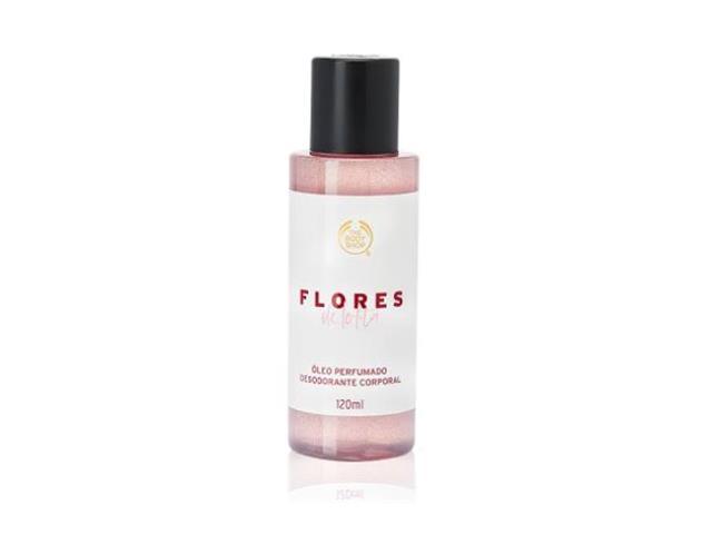 Óleo Desodorante Corporal The Body Shop Flores de Lolita 120ML