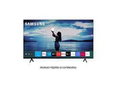 "Smart TV LED 58"" Samsung Tizen Crystal UHD 4K HDR10+ 2 HDMI 1USB Wi-Fi - 1"