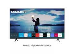 "Smart TV LED 65"" Samsung Tizen Crystal UHD 4K HDR10+ 2 HDMI 1USB Wi-Fi - 1"