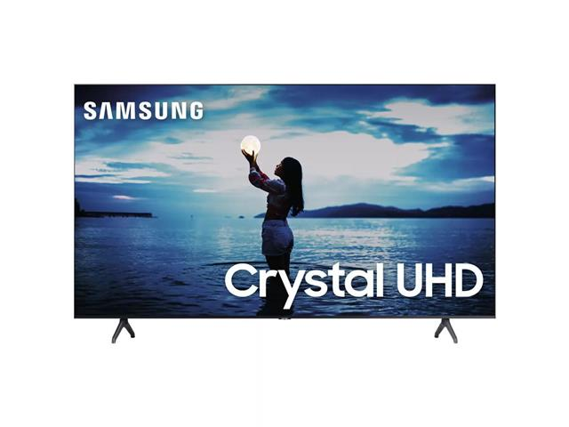 "Smart TV LED 75"" Samsung Tizen Crystal UHD 4K HDR10+ 2 HDMI 1USB Wi-Fi"