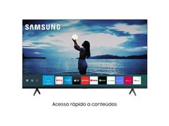 "Smart TV LED 75"" Samsung Tizen Crystal UHD 4K HDR10+ 2 HDMI 1USB Wi-Fi - 1"