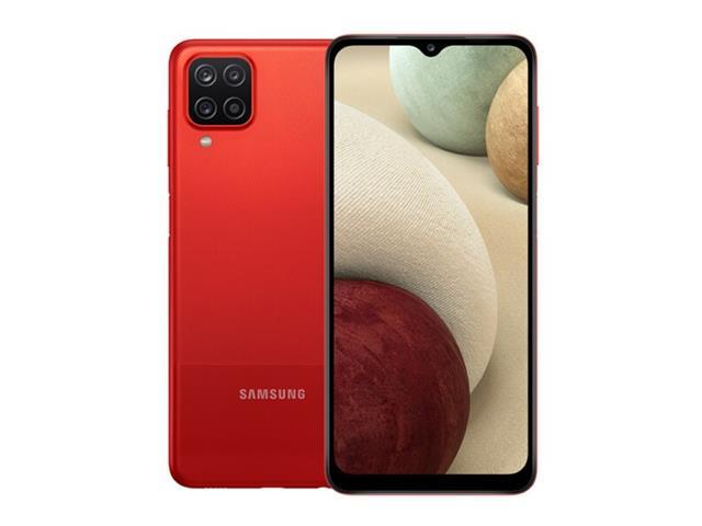 """Smartphone Samsung Galaxy A12 64GB 4G 6.5"""" QuadCâm 48+5+2+2MP Vermelho"""