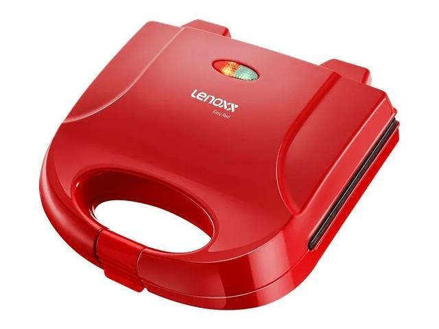 Grill e Sanduicheira Lenoxx Easy Red 750W