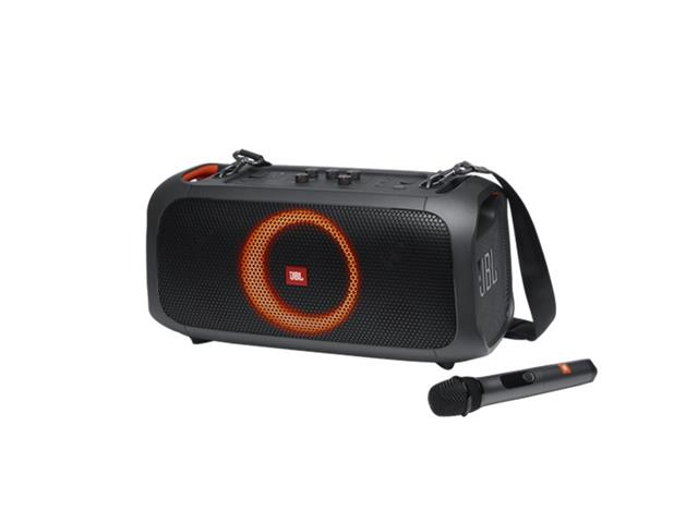 Caixa de Som Bluetooth JBL PartyBox On The Go 100W  C/Microfone S/Fio
