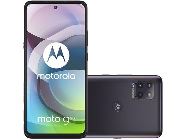 "Smartphone Motorola Moto G 5G 128GB FHD+6.7""6GB RAM Câm 48+8+2MP Preto"