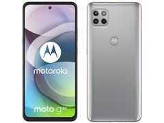 "Smartphone Motorola Moto G 5G 128GB FHD+6.7""6GB RAM Câm 48+8+2MP Prata - 1"