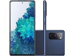 Kit Samsung Galaxy S20FE 256GB Azul e Caixa de Som LG Xboom Go PL2 - 1