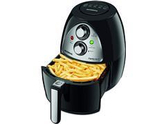 Fritadeira Sem Óleo Mondial Family Air Fryer 4 Litros Preta