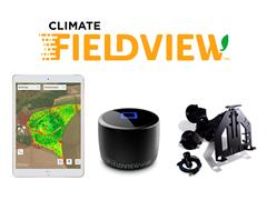 Kit Tablet Ipad 7+ Fixação de iPad c/Ventosa + Climate FieldView Drive