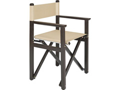 Cadeira Diretor Tramontina Tabaco com Bege - 1