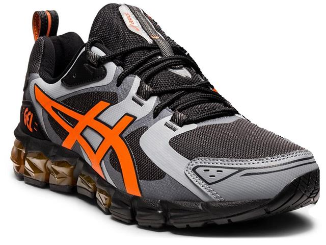 Tênis Asics Gel-Quantum 180 Graphite Grey/Marigold Orange Masculino