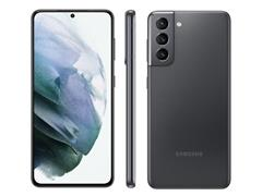 "Smartphone Samsung Galaxy S21 5G 128GB 6.2"" 8GB RAM 64+12+12MP Cinza - 1"