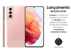 "Smartphone Samsung Galaxy S21 5G 128GB 6.2"" 8GB RAM 64+12+12MP Rosa - 0"